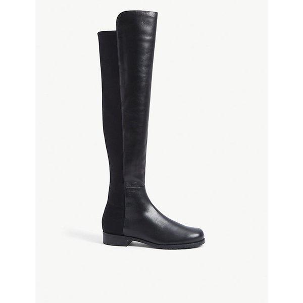 STUART WEITZMAN | Stuart Weitzman 50/50 suede knee high boots | Goxip