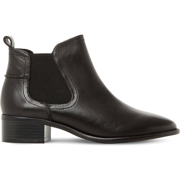 STEVE MADDEN | Steve Madden Ladies Black Timeless Dicey Sm Leather Chelsea Boots | Goxip