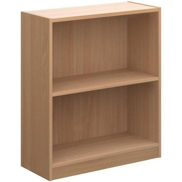 16. Economy Bookcase 720mm High 1 shelf  Beech: £56.97, Ebuyer