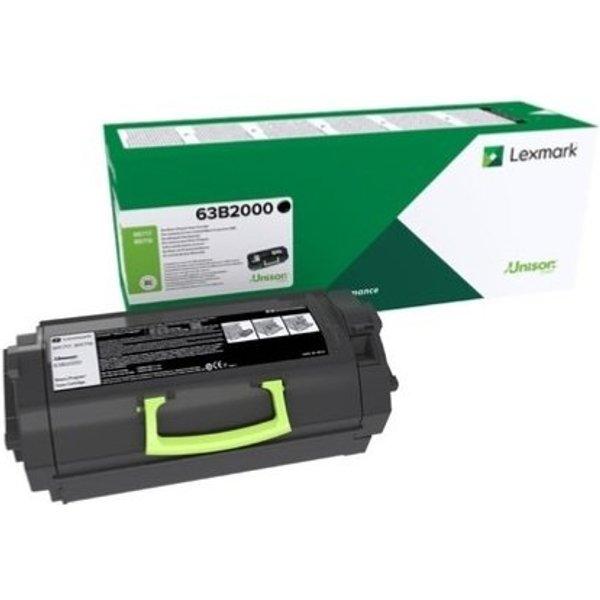 Original Lexmark 63B2X00 Extra High Capacity Black Return