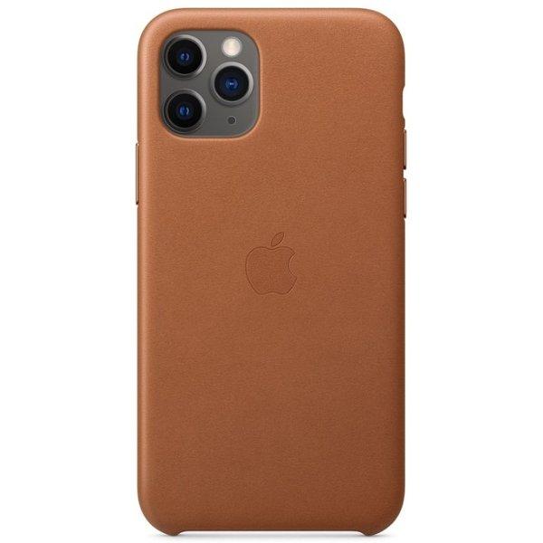 Apple Leder Case für iPhone 11 Pro sattelbraun
