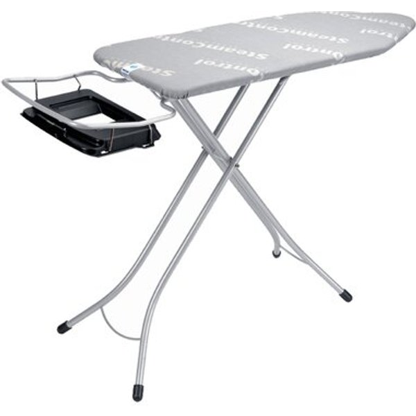 15. Aqua Bowl Freestanding Ironing Board with Foldable Steam Unit Holder: £144.99, Wayfair