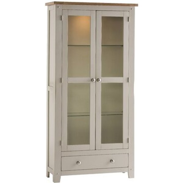 2. Mayfair Display Cabinet with Lighting: £589.99, Wayfair