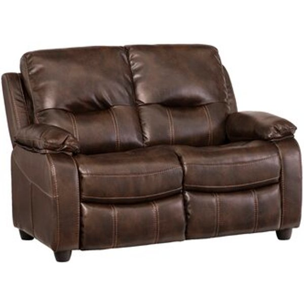 1. Valencia 2 Seater Reclining Sofa, Brown: £539.99, Wayfair