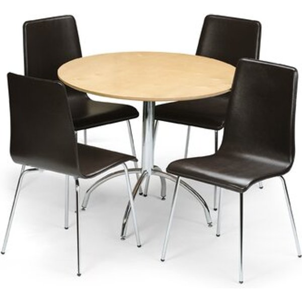 2. Lucien Dining Table and 4 Chairs: £273.99, Wayfair