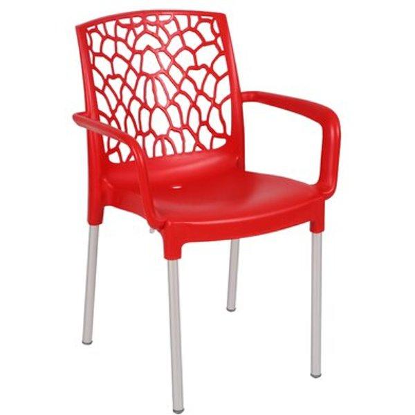 22. Aracna Armchair, Red: £157.99, Wayfair