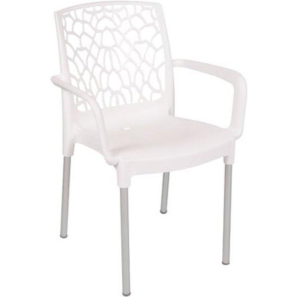 21. Aracna Armchair, White: £157.99, Wayfair