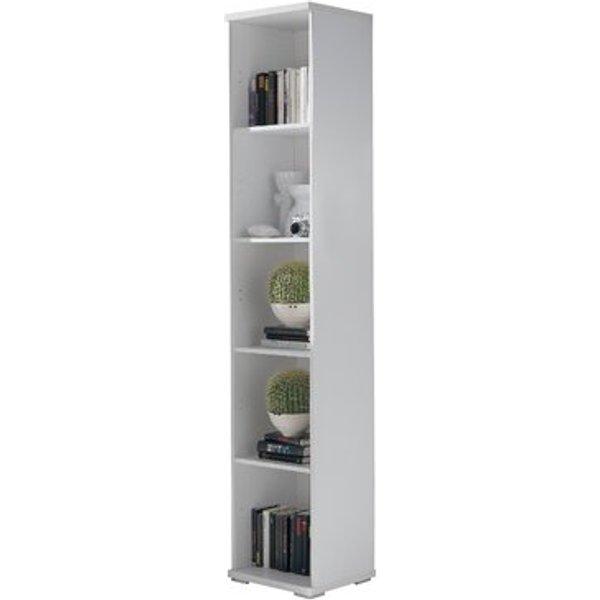 6. Shelving 40cm Bookcase, White,Brown,Cherry,Oak: £136.99, Wayfair