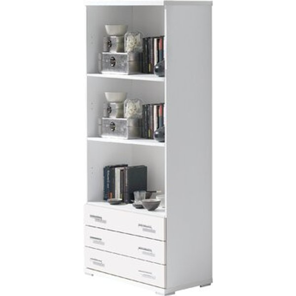 3. Shelving Modules 80cm Bookcase, White,Gray,Brown,Cherry,Oak,Beige: £277.99, Wayfair