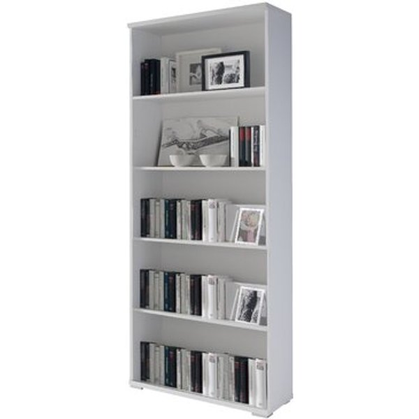 5. Shelving 80cm Bookcase, White,Brown,Cherry,Oak: £209.99, Wayfair