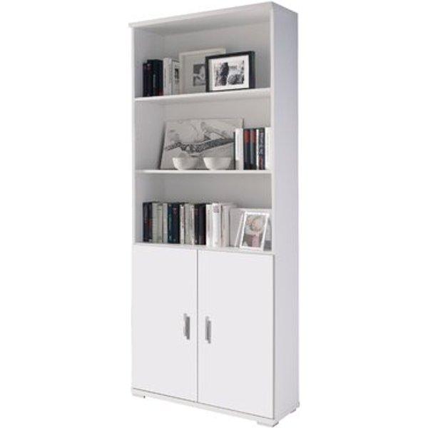 4. Shelf Modules 80cm Bookcase, White,Gray,Brown,Cherry,Oak,Beige: £229.99, Wayfair