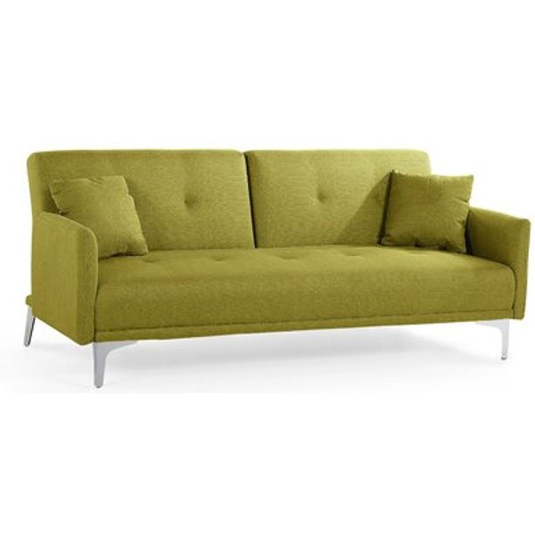 5. Lucan 3 Seater Sofa Bed, Green: £425.99, Wayfair