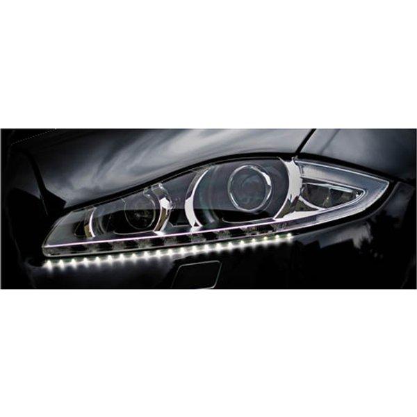 Feu diurne pour véhicules, bande de 21 LEDs flexibles