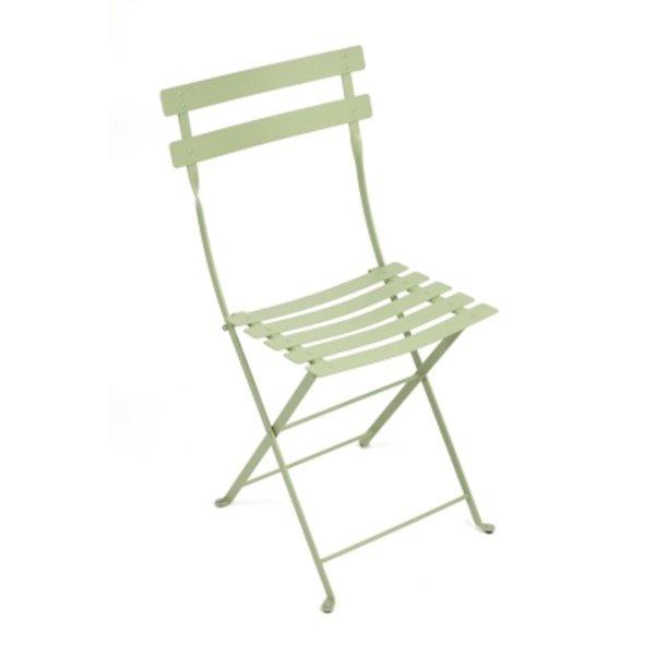 Chaise pliante Bistro / Métal - Fermob tilleul en métal