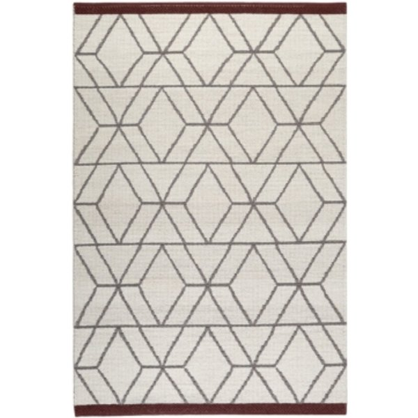 Tapis en laine scandinave Hexagon Esprit Home