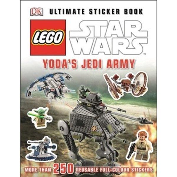 LEGO® Star WarsTM Yoda's Jedi Army Ultimate Sticker Book (Ultimate Stickers)