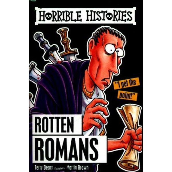 Rotten Romans (Horrible Histories) (Paperback)