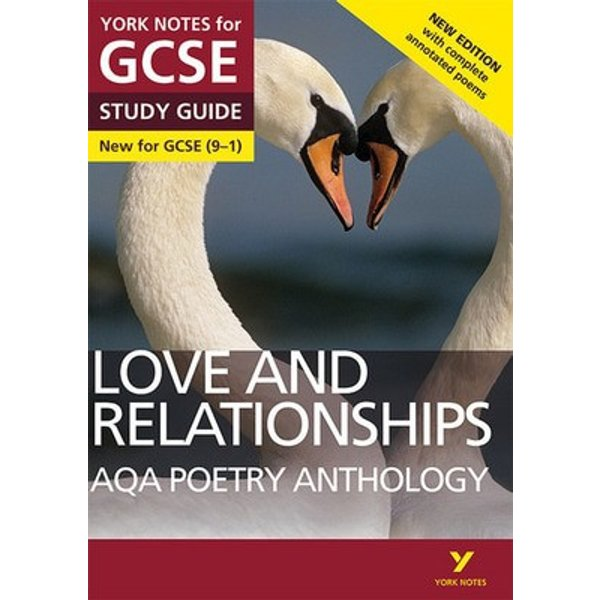 AQA poetry anthology Love and relationships BOOK