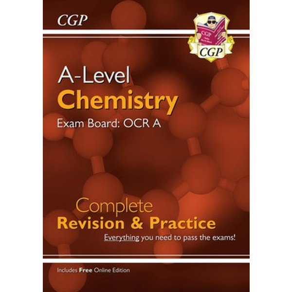New A-Level Chemistry for 2018: OCR A Year 1 & 2 Complete Revision & Practice with Online Edition (CGP A-Level Chemistry) - [Livre en VO]