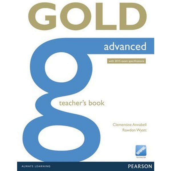 Gold experience Advanced Teachers book BOOK
