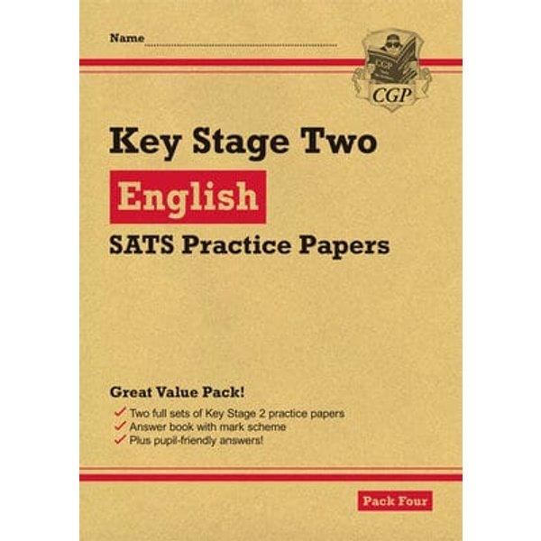 KS2 English SATS Practice Papers Pack 4 for the 2021 tests BOOK
