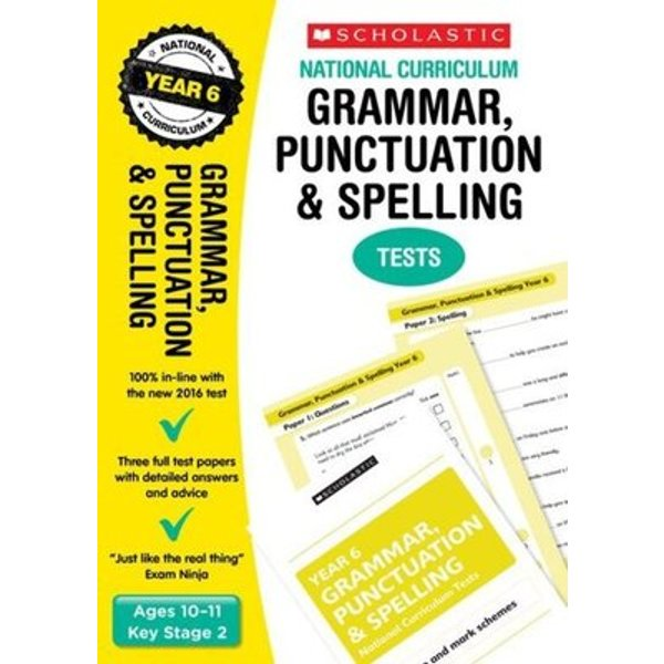 Grammar, Punctuation And Spelling Test - Year 6 (National Curriculum Sats Tests) (National Curriculum Tests) (Paperback)