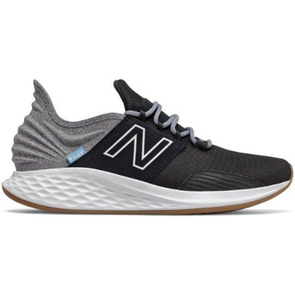 New Balance Fresh Foam Roav Tee Shirt Chaussures - Black/Light Aluminum (Taille: EU 40)