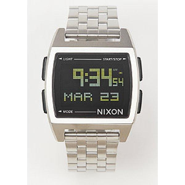 Mens Nixon The Base Alarm Chronograph Watch (A1107-000)