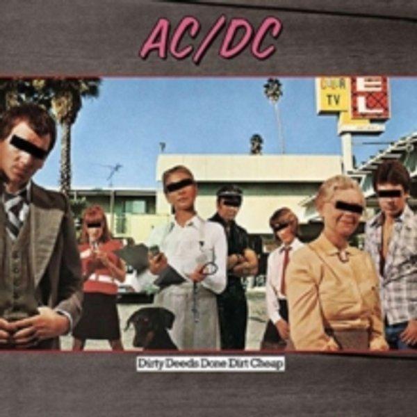AC/DC Dirty deeds done dirt cheap LP Standard