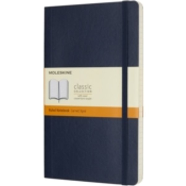 Moleskine Notizbuch Large Softcover Liniert Saphir