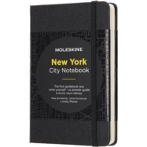 MOLESKINE City Notizbuch P/A6 New York, HC, Schwarz