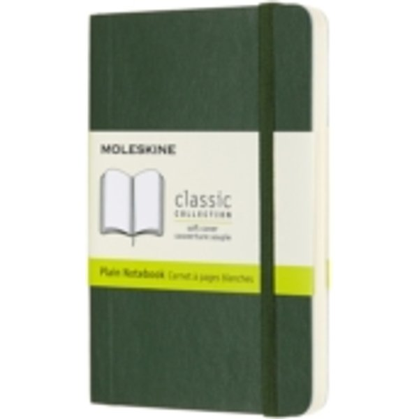Moleskine Notizbuch Pocket/A6, Blanko, Myrtengrün