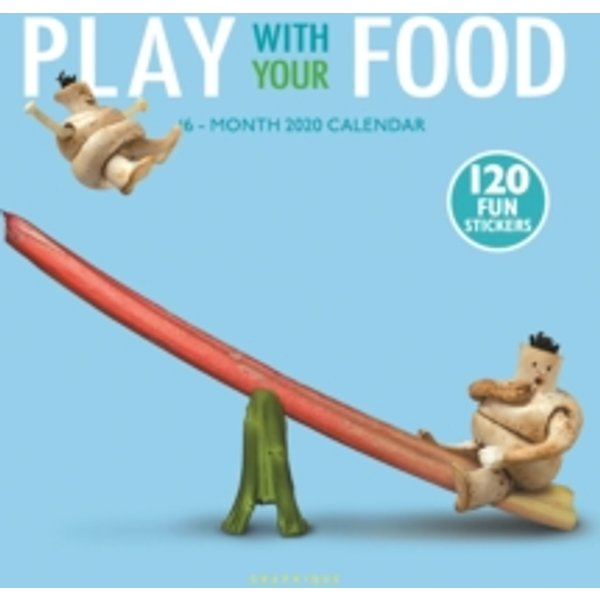 Play with Your Food 2020 Square Wall Calendar