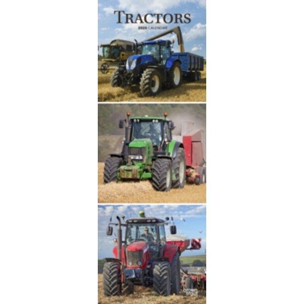 Tractors 2020 Slim Calendar