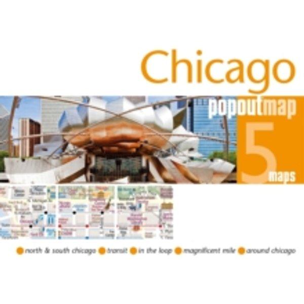 Maps, Popout: Popout Map Chicago Double