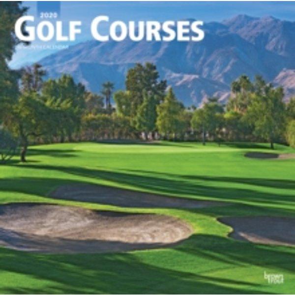 Golf Courses - Golfpl?tze 2020 - 16-Monatskalender