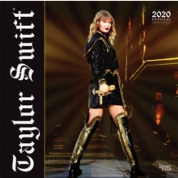 Taylor Swift 2020 Square Wall Calendar