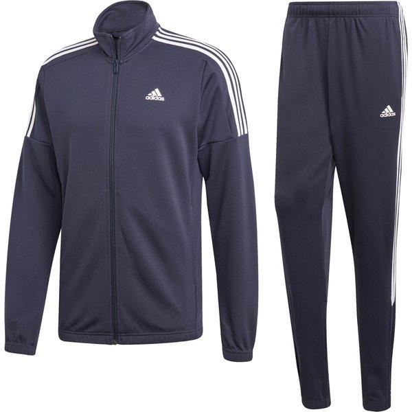 adidas Team Sports Survêtement Hommes - Bleu Foncé , Blanc