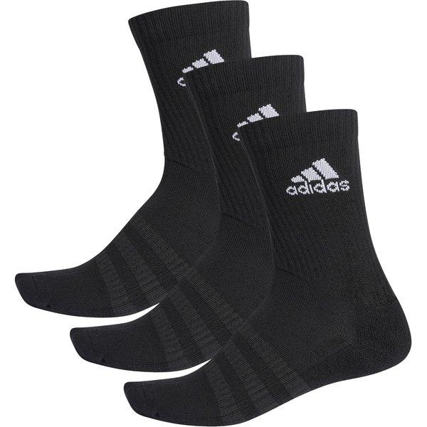 adidas Cushioned Crew Socken (3 Paar) - schwarz 49-51