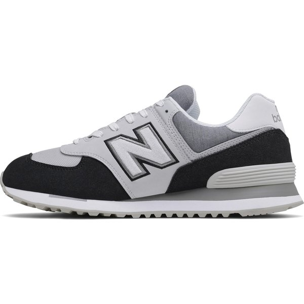 New Balance  574  men's Shoes (Trainers) in Grey. Sizes available:6.5,8,9,9.5,10.5,7,8.5,11.5,7.5,10,11,12.5,7,7.5,8,8.5,9,9.5,10,10.5,11,11.5,12.5