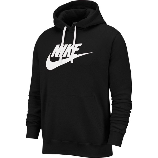 Nike  M NSW CLUB HOODIE PO BB GX  men's Sweatshirt in Black
