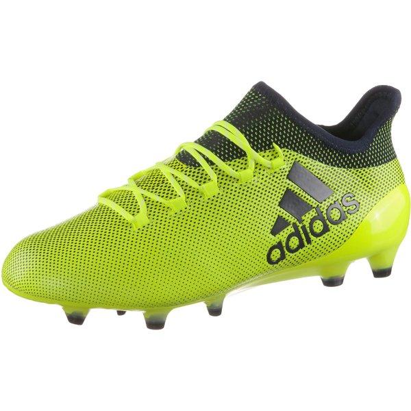 adidas X 17.1 FG Herren Fußballschuhe Nocken gelb blau