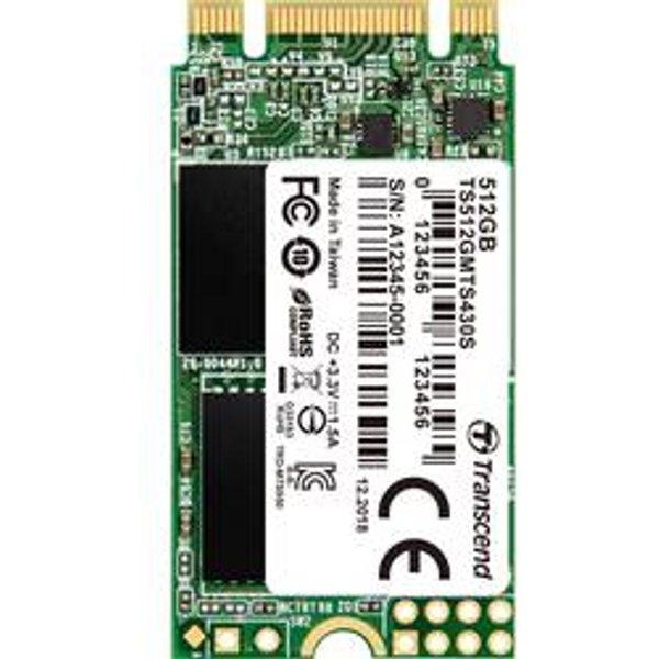 Transcend 430S - 512 GB SSD - intern - M.2 2242