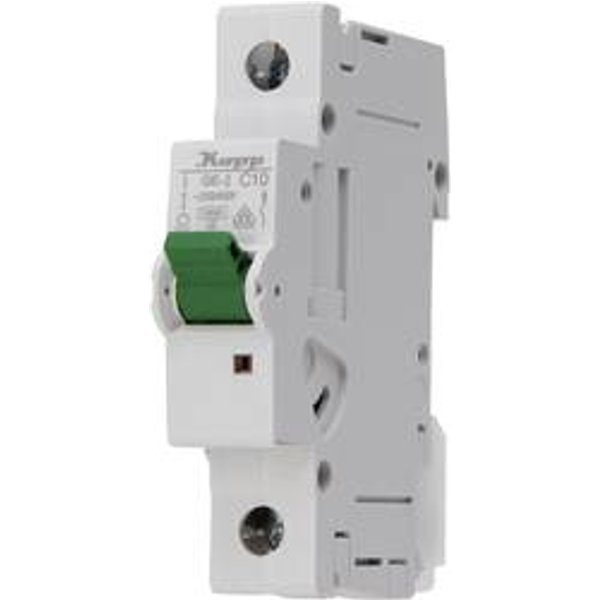 Disjoncteur Kopp 721001007 monophasé 10 A 400 V 1 pc(s)