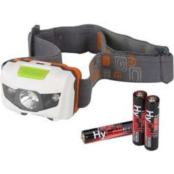 HyCell Led- Headlight, LED-Leuchte, grau/weiß