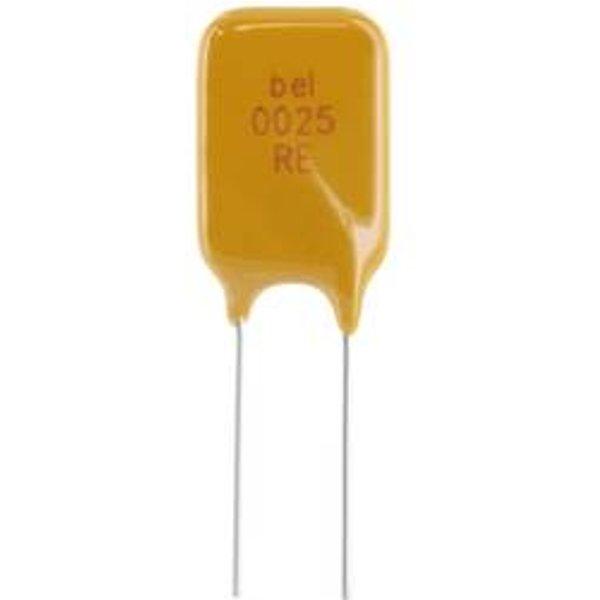 Fusible réarmable Belfuse 0ZRE0016FF2C THR 0.16 A 240.0 V 2000 pc(s) Bulk