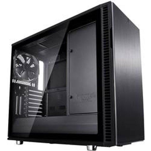 Fractal Define R6 Blackout Tempered Glass PC Case