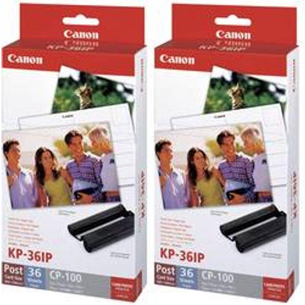 Canon KP-36IP Colour Ink/ Paper Set 36 Sheets