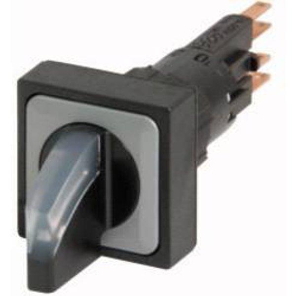Bouton sélecteur collerette plastique levier noir Eaton Q25LWK3R2-WS 1 pc(s)