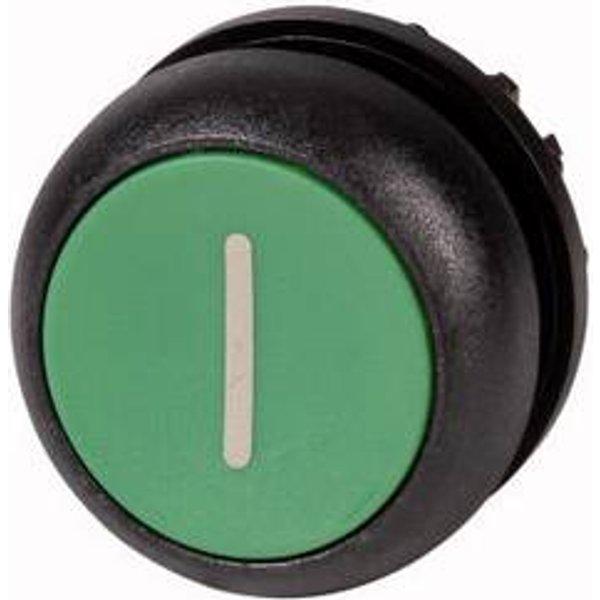 Bouton-poussoir à rappel collerette plastique Eaton M22S-DR-G-X1 1 pc(s)